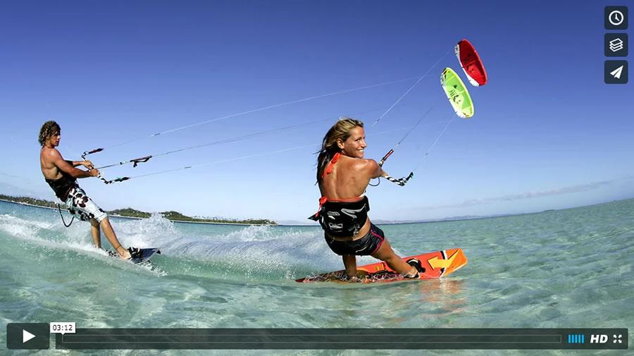 Kiten lernen in Kitesurf-Kursen und Kitecamps an der Ostsee