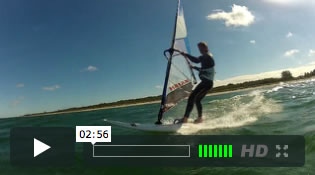 Windsurfen lernen in Windsurf-Kursen und Windsurfcamps an der Ostsee