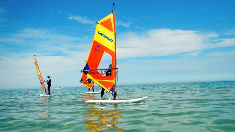 Windsurfcamps mit Spass und Action bei uns in Zingst